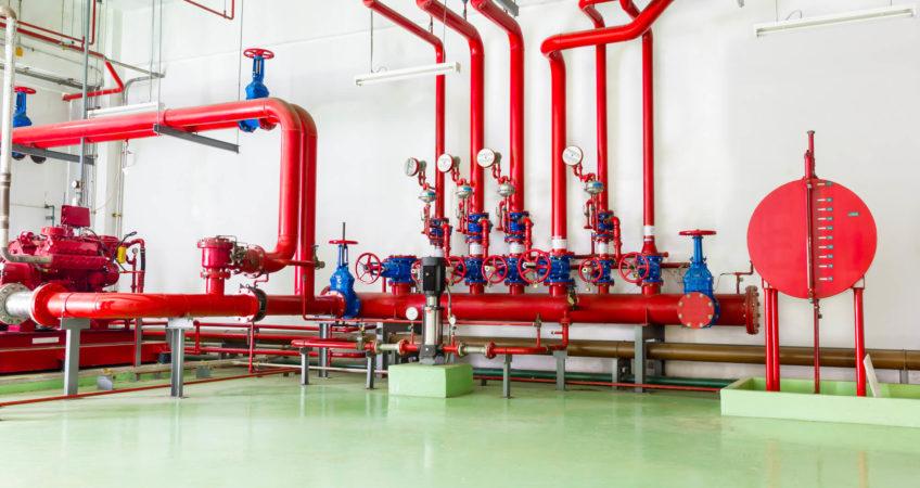 Sistema de Incêndio Industrial Bahia