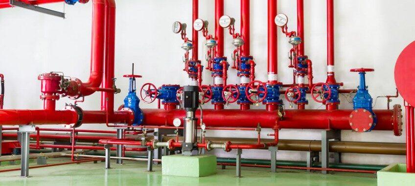 Sistema de Incêndio Industrial Taubaté